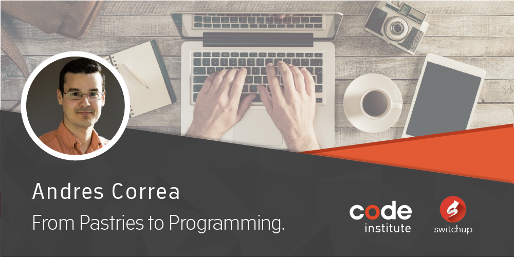 Andres Correa: From Pastries to Programming